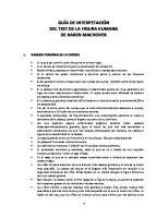 Guia de Interpetacion Del Test de La Fig Humana
