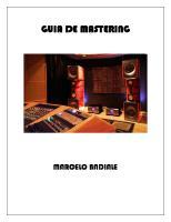 Guia de Mastering
