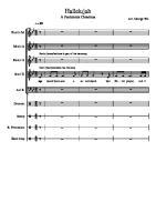 Hallelujah - Pentatonix Full Sheet Music w Lyrics