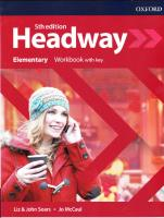 Headway Elementary Workbook 5th Edition