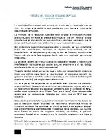 Historia del Siglo XX, cap 2