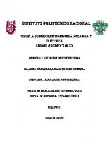 Instituto Politecnico Nacional: Escuela Superior De Ingenieria Mecanica Y Electrica Unidad Azcapotzalco