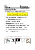 Instrucciones: Leer las siguientes alternativas y completar las oraciones