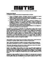 Instrucciones Para Autores Revista Mutis