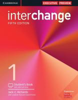 INTERCHANGE 1 5TH EDITION STUDENT BOOK