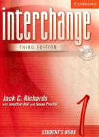 Interchange Third Edition 1