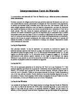 Interpretaciones Tarot de Marsella