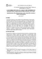 Jaime Breilh Determinacion Social de La Salud