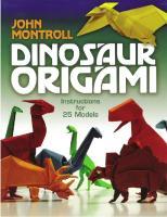 John Montroll - Dinosaur Origami.pdf