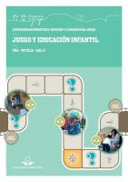 Juego y Educacion Infantil