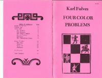 Karl Fulves - Four Color Problems
