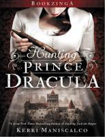 Kerri Maniscalco - Stalking Jack The Ripper 02 - Hunting Prince Dracula PDF