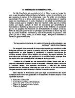 La Democracia en America Latina