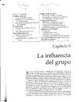 La Influencia Del Grupo