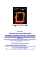 La Magia de La Influencia