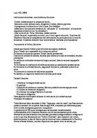 Ley 1420 Resumen