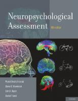 Lezak. Neuropsychological Assessment [5th Edition]