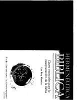 Libro Hermenetica Biblica de Lee Roy Martin