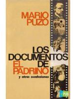 Los Documentos de El Padrino y Otras Confesiones - Mario Puzo