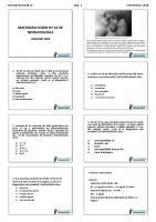 Macrodiscusion de Neonatologia n 02 Usamedic 2018 Lista Alumno