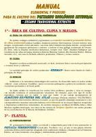 Manual Cultivo Del Pistacho