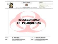 Manual de Bioseguridad Para Peluquerias