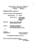 Manual de Liturgia II