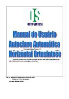 Manual de Usuario Español - Autoclave