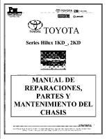 Manual TOYOTA Hilux