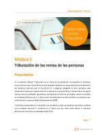 Manual Tributacion de Las Rentas de Las Personas