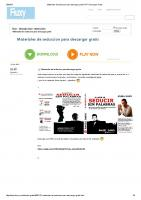 Materiales de Seduccion Para Descargar Gratis PDF Descargar Gratis