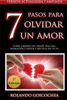 Mejores Libros PDF GRATIS 7 Pasos para Olvidar Un Amor