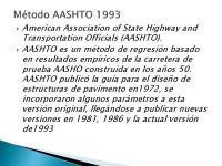 METODO AASHTO