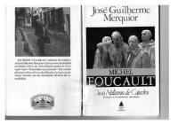 Michel Foucault ou o Niilismo de Cátedra - Jose Guilherme Merquior