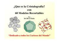 Modelos Cristalograficos PDF