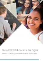 Nano MOOC Educar en la Era Digital
