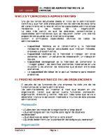 Niveles y capacidades administrativas