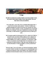 Novela Finisterra