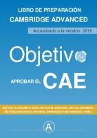 Objetiv: Cambridge Advanced