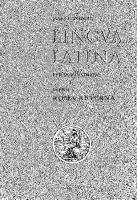 Orberg Hans H - Lingva Latina Per Se Illvstrata 2 (Latin)