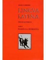 Orberg - Lingua Latina per se illustrata - 1 De Familia Romana.pdf