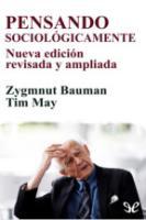 Pensando Sociologicamente - Bauman, Zygmunt