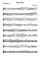 Petite Fleur - Alto Saxophone