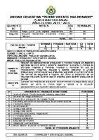 Plan Didactico Anual Formacion y Orientacion Laboral