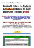 Productos Clickbank gratis