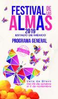 Programa Festival de las Almas Valle de Bravo 2019
