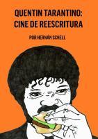 Quentin Tarantino Cine de Reescritura