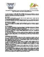 Reglamento Arrancones Cuarto de Milla Expobike Fest