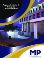 Reglamento Interior de Trabajo Del Ministerio Publico