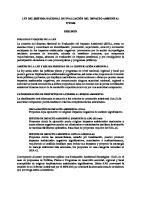 Resumen Ley 27446